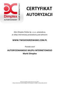 Kaszok_INSTALTECH_Certyfikat